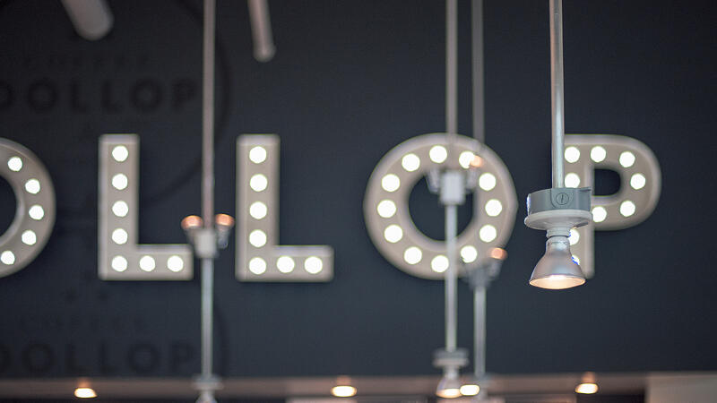 Dollop Marquee Letters