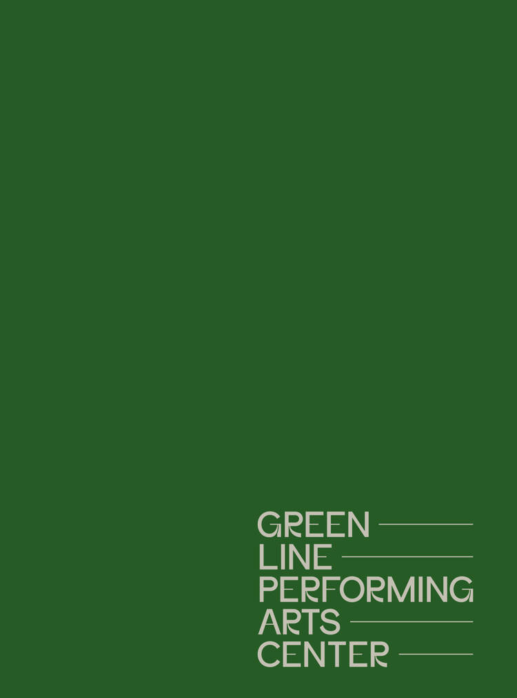 Crop of Exterterior Green Line signage