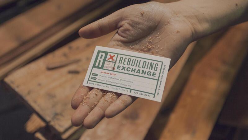 Rebuilding Exchange Business Card