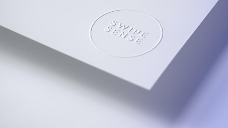 Swipe Sense Embossed Logo Detail