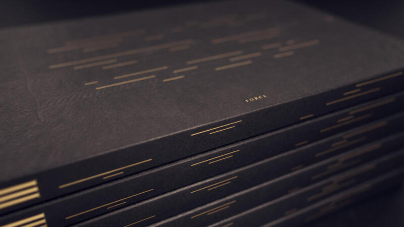 Typeforce III Gold Foil Stamped Cover and Spine