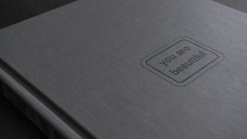 Gray Cover of You Are Beautiful book